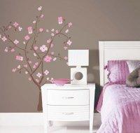 Pokój dziecka, naklejka drzewko wiśniowe