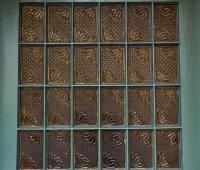 szklana ściana