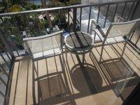 komfortowo na balkonie