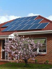 panele, słoneczne, energia