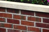 murowana ściana