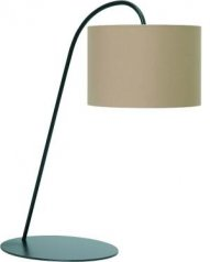 Lampa biurkowa ALICE w kolorze coffee