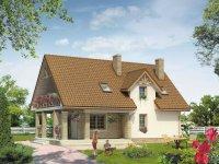 Projekt domu Czajka rekomendowany przez pracownię projektową MTM STYL