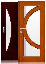 Drzwi ARCUS o efektownych przeszkleniach dodadzą wnętrzu charakteru